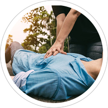 First aid cpr/aed training